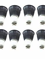 Недорогие -8шт 5.5W 6.5W 600 lm GU10 Точечное LED освещение 1 светодиоды COB Тёплый белый Холодный белый 220-240V