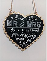 cheap -Wedding / Engagement Wooden Wedding Decorations Beach Theme / Fairytale Theme / Family / Wedding All Seasons