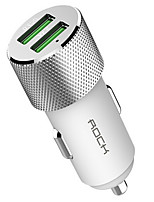 preiswerte -Auto-Ladegerät Telefon USB Ladegerät USB QC 2.0 Power Strips Mehrere Anschlüsse 2 USB Anschlüsse 1.5A 2.0A 2.4A 3,0A 3.4A DC 24V