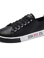 abordables -Homme Chaussures Polyuréthane Printemps Automne Confort Basket pour Décontracté Blanc Noir Gris