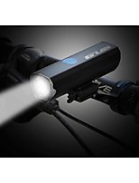 cheap -Bike Lights Front Bike Light LED LED Cycling Quick installation with Charger Cables Charging indicator Kits Lithium Battery 300 Lumens
