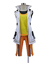 cheap -Inspired by God Eater Cosplay Anime Cosplay Costumes Cosplay Suits Other Sleeveless Coat Pants Gloves More Accessories For Men's Women's