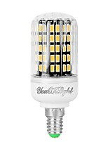 Недорогие -YouOKLight 1шт 7 Вт. 560 lm E14 LED лампы типа Корн 108 светодиоды SMD 5733 Декоративная Тёплый белый Холодный белый 110-130V