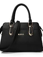 cheap -Women's Bags PU Tote Zipper for Casual Office & Career All Seasons Blue Black Gray Purple Yellow