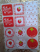 cheap -Others Stickers, Labels & Tags - 12 Square Circular Stickers All Seasons