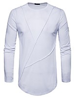 cheap -Men's Basic Sweatshirt - Solid Colored