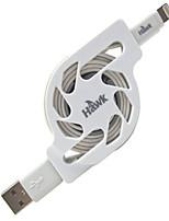 baratos -Iluminação Adaptador de cabo USB Carga rápida Alta Velocidade Raso Cabo Para iPhone 120 cm PVC
