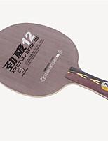 economico -DHS® POWER.G12 FL Ping-pong Racchette Indossabile Duraturo di legno Fibra di carbonio 1