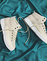 cheap -Men's Shoes Fabric Winter Comfort Sneakers for Casual White Black Khaki