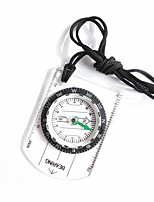 cheap -Compasses Light and Convenient Measure Small Size Compass Climbing Outdoor Exercise Trekking Plastic cm 1 pcs