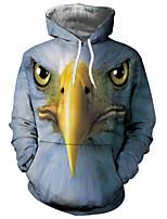 cheap -Men's Long Sleeves Hoodie - Geometric Hooded