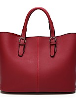 cheap -Women's Bags PU Tote Zipper for Shopping Casual All Seasons Champagne Gold Black Gray Wine
