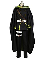 cheap -Inspired by Seraph of the End Cosplay Anime Cosplay Costumes Cosplay Suits Other Long Sleeves Coat Pants Gloves Belt Cloak More