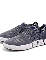 cheap -Men's Shoes Knit Spring Summer Comfort Sneakers for Casual Outdoor Black Gray Blue