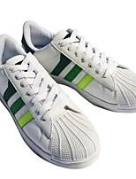 abordables -Homme Chaussures Toile Printemps Automne Confort Basket pour Décontracté Noir/blanc Blanc/Bleu Blanc et vert