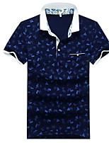 preiswerte -Herrn Blumen-Street Schick Polo,Hemdkragen
