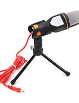 abordables -SF-666 Câblé Microphone Micro Microphone à Condensateur Blocs de Couleur Pour Téléphone portable