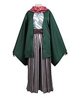 Недорогие -Вдохновлен IDOLiSH7 Косплей Аниме Косплэй костюмы Косплей Костюмы другое Длинный рукав 1 браслет Пальто Брюки кимоно Пальто Шарф