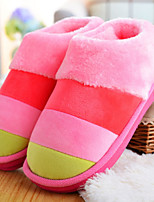cheap -Ordinary Guest Slippers Slippers Women's Slippers Men's Slippers Polyester Spinning Cotton Cotton Animal Print solid color