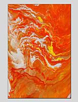 abordables -Pintura al óleo pintada a colgar Pintada a mano Abstracto Vertical Panorámico, Modern Decoración hogareña Un Panel