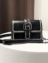 cheap -Women's Bags PU Shoulder Bag Zipper for Casual All Seasons Blue Green Black Khaki