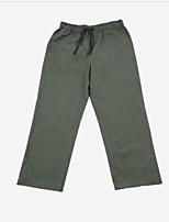 abordables -satin des hommes& pyjamas en soie-ruchés, solides