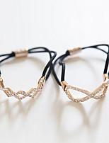 cheap -Elastics & Ties Hair Accessories Elastic Wigs Accessories Women's 2pcs pcs cm Daily Headpieces Lovely