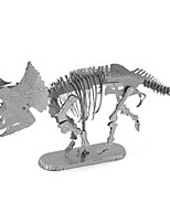 cheap -3D Puzzles Metal Puzzles Dinosaur Focus Toy Hand-made Metal 1pcs Standing Style Animals Toy Kid's Adults' Girls' Boys' Gift