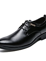 cheap -Men's Shoes Synthetic Microfiber PU Spring Fall Formal Shoes Oxfords for Casual Office & Career Black Brown