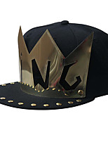 cheap -Unisex Party Casual Cotton Polyester Sun Hat Baseball Cap - Solid Colored, Rivet