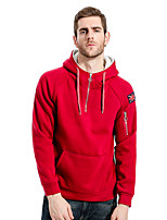 cheap -Men's Loose Hoodie - Letter Hooded