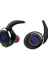 cheap -AWEI T1 In Ear Bluetooth 4.2 Headphones Dynamic Mahogany Sport & Fitness Earphone Mini Comfy Noise-isolating Stereo Headset