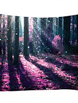 cheap -Garden Theme Horror Wall Decor 100% Polyester Contemporary Modern Wall Art, Wall Tapestries Decoration