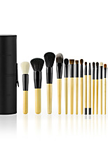 cheap -18pcs Makeup Brush Set Horse Others Synthetic Hair Goat Hair Professional Comfy Full Coverage Wooden N/A Professional Comfy Full Coverage