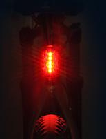 cheap -Bike Lights Rear Bike Light LED LED Cycling Professional Dry Cell 15 Lumens AAA Red Cycling/Bike