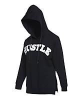 preiswerte -Damen Laufshirt Langarm Rasche Trocknung Sweatshirt für Baumwolle Schwarz L XL