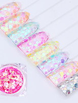 cheap -8pcs Nail Glitter Decorating Tool Nail Glitter Nail Art DIY Tool Accessory Nail Art Design