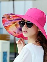 cheap -Women's Casual Sun Hat - Geometric, Basic