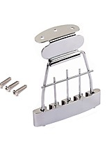 cheap -Professional Guitar Accessory Bridge Electric Bass Zinc Alloy Steel Musical Instrument Accessories 11*8.2*1.1cm