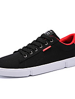 cheap -Men's Shoes Fabric Spring Fall Comfort Sneakers for Casual White Black/White Black/Red