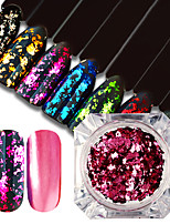 cheap -1pcs Nail Glitter Glitter Powder Sequins Luxury Glitter & Sparkle Nail Art Tips