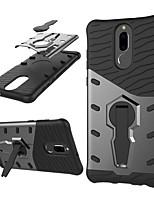 Недорогие -Кейс для Назначение Huawei Mate 10 lite Защита от удара / со стендом / Поворот на 360° Кейс на заднюю панель броня Твердый ПК для Mate 10 lite
