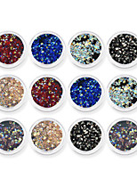 cheap -1 Rhinestones Nail Jewelry Nail Glitter Diamond N/A Nail Art Design