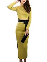 cheap -Women's Simple Hoodie Skirt