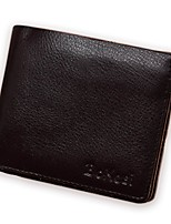 cheap -Men's Bags Cowhide Wallet Embossed for Shopping Casual All Seasons Black Yellow Coffee