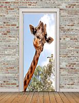 abordables -Paisaje Animales Pegatinas de pared Calcomanías de Aviones para Pared Calcomanías 3D para Pared Calcomanías Decorativas de Pared