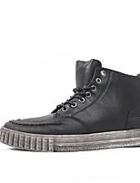 abordables -Homme Chaussures Polyuréthane Hiver Automne Confort Basket pour Décontracté Noir Marron Vert Véronèse