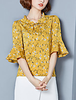 cheap -Women's Street chic Shirt V Neck