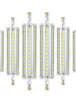 cheap -YWXLIGHT® 6pcs 8W 700-800 lm R7S LED Corn Lights 72 leds SMD 2835 Dimmable Decorative Warm White Cold White Natural White AC 110-130V AC