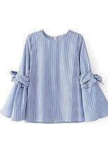 cheap -Women's Vintage Blouse - Striped